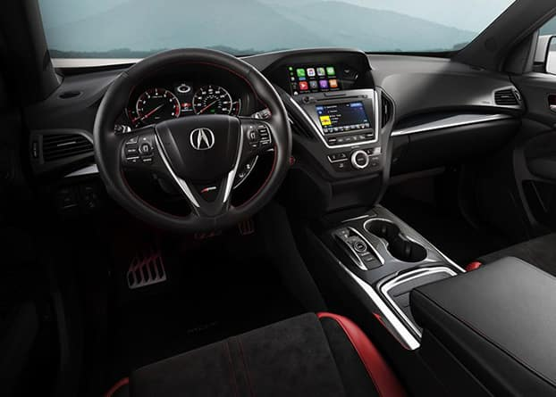 2019 Acura MDX driver focused cockpit