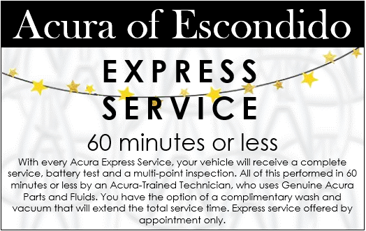 photograph about Printable Coupons Acura Service named Acura Motor vehicle Support Offers Acura of Escondido