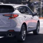 White Acura RDX