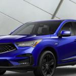 Blue 2020 Acura RDX