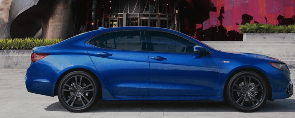 Blue 2020 Acura TLX