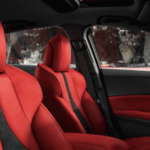 Red 2020 Acura ILX Interior