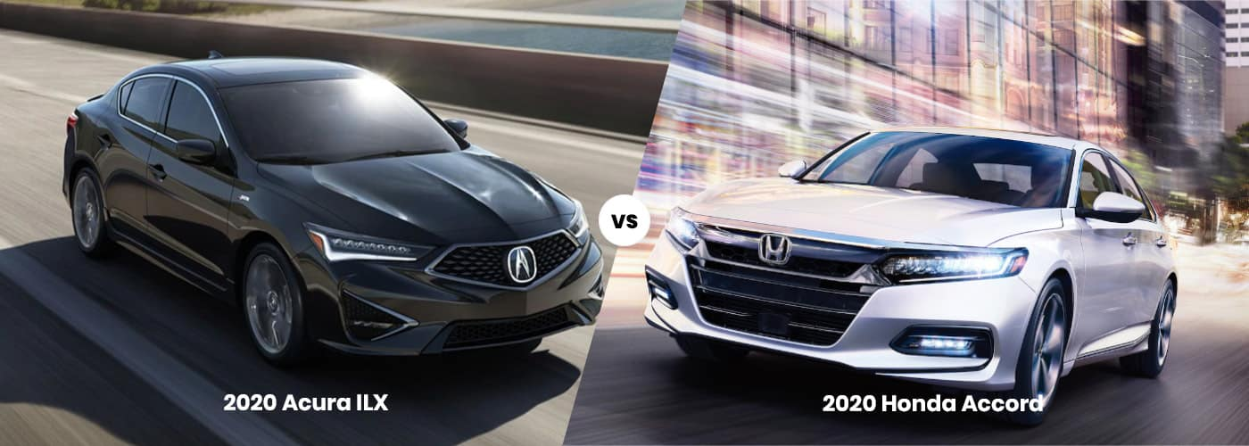 2020 Acura ILX vs 2020 Honda Accord