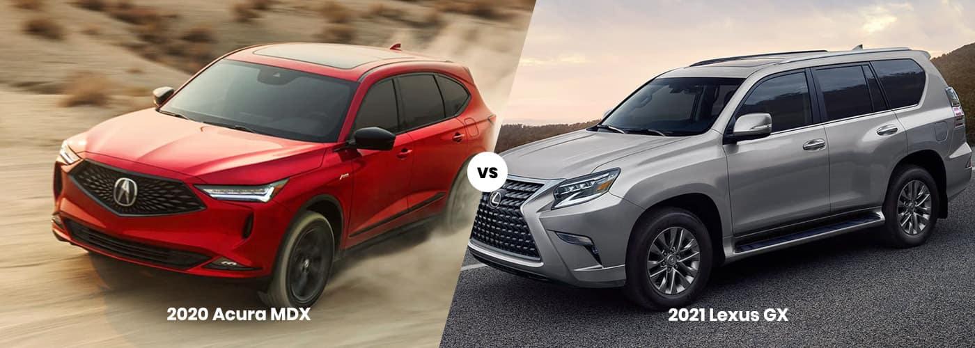 Acura MDX vs Lexus GX