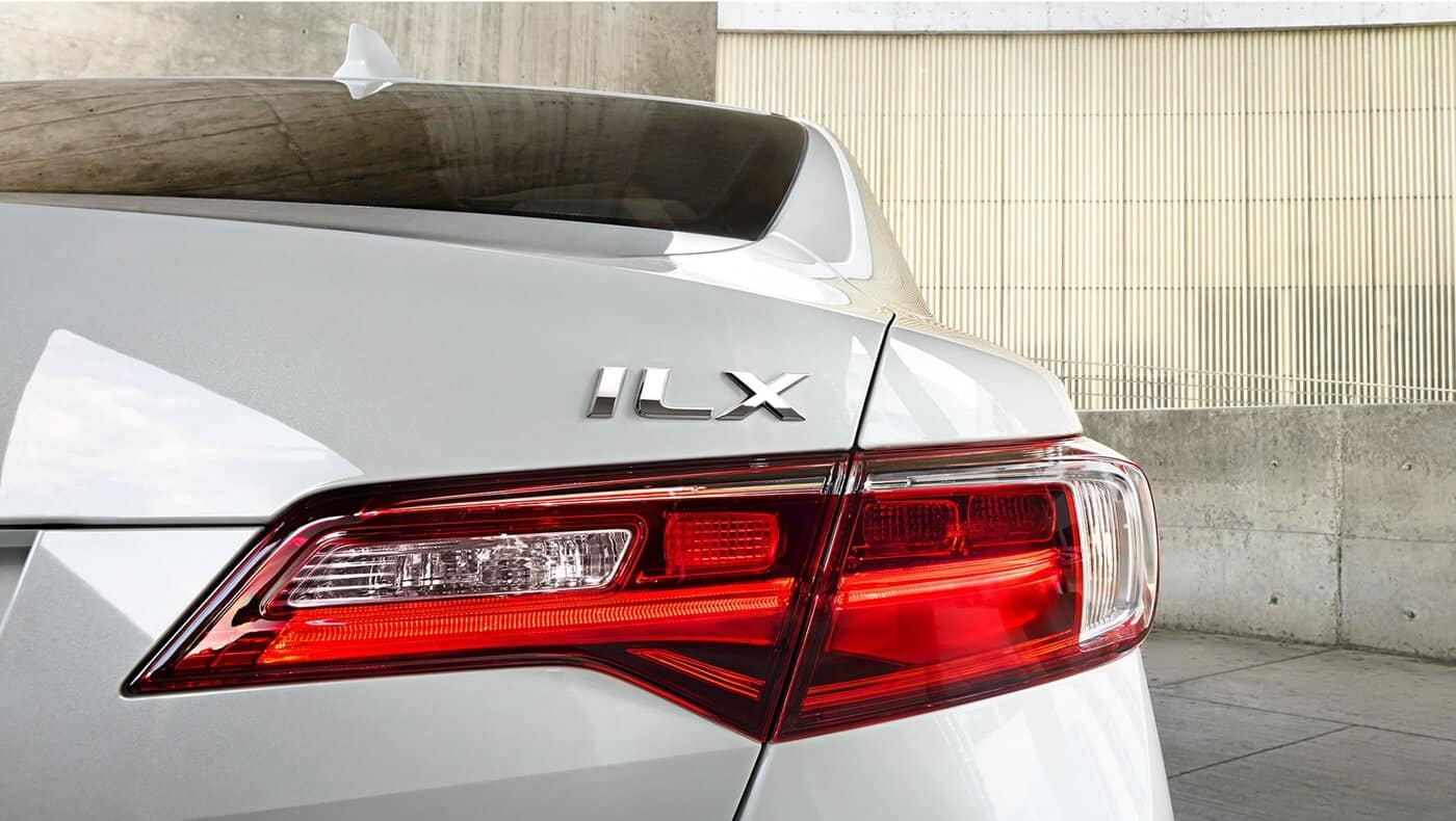 2018 Acura ILX rear view up close
