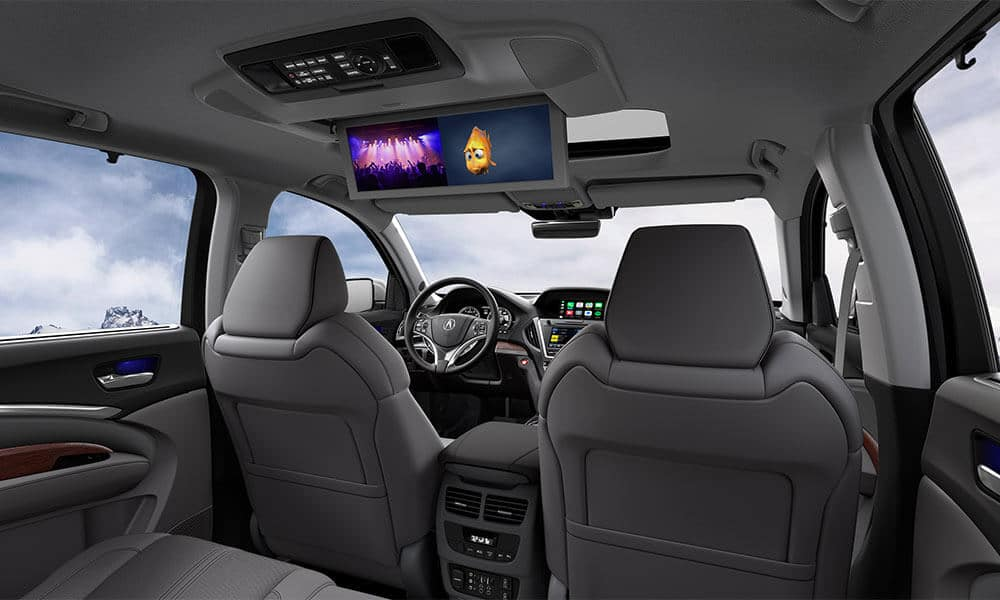 2018 Acura MDX interior features
