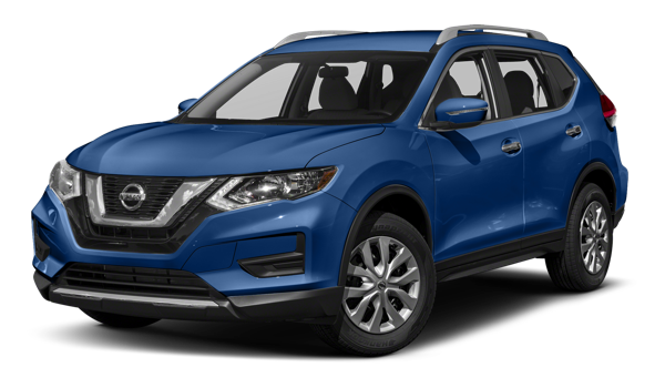 2018 Nissan Rogue white background