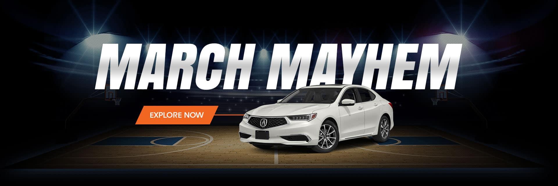 Acura TLX March Mayhem