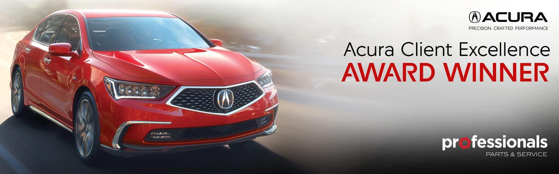 Acura Client Excellence Award
