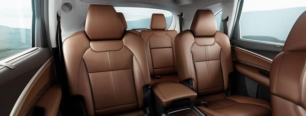 Acura MDX Rear Seat in espresso leather