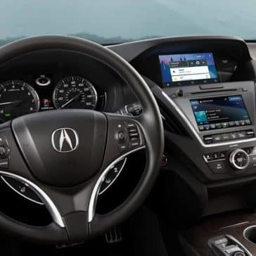 2019 Acura MDX front interior features