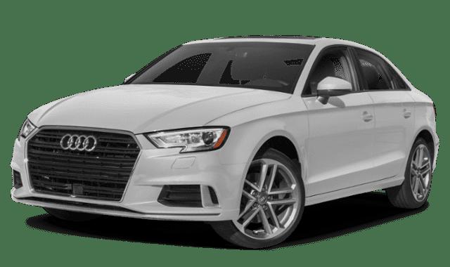 White 2019 Audi A3