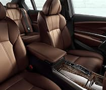 Six-Level Heated & Ventilated Leather Seats