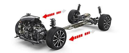 2020 Acura TLX Transfer Case Sensors