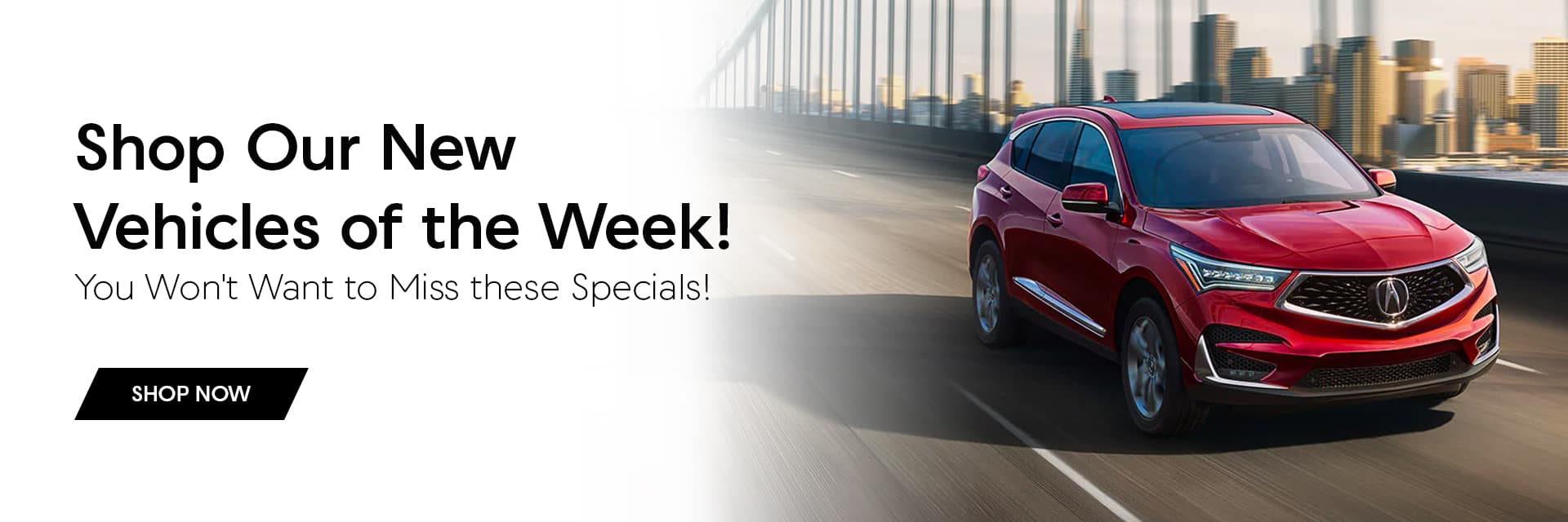 new vehicles of the week