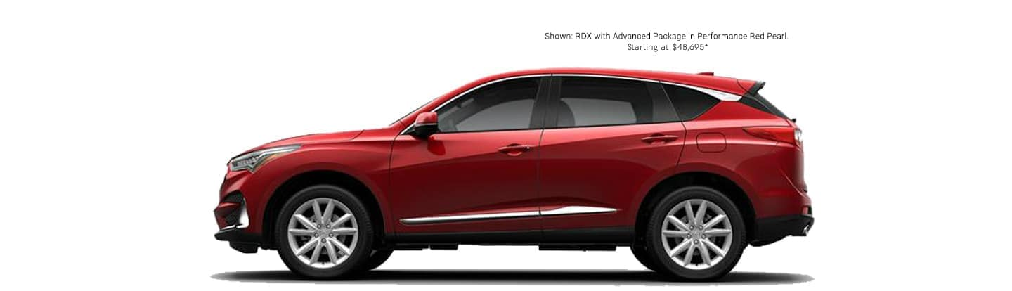 Shown:RDX with Advance Package in Performance Red Pearl