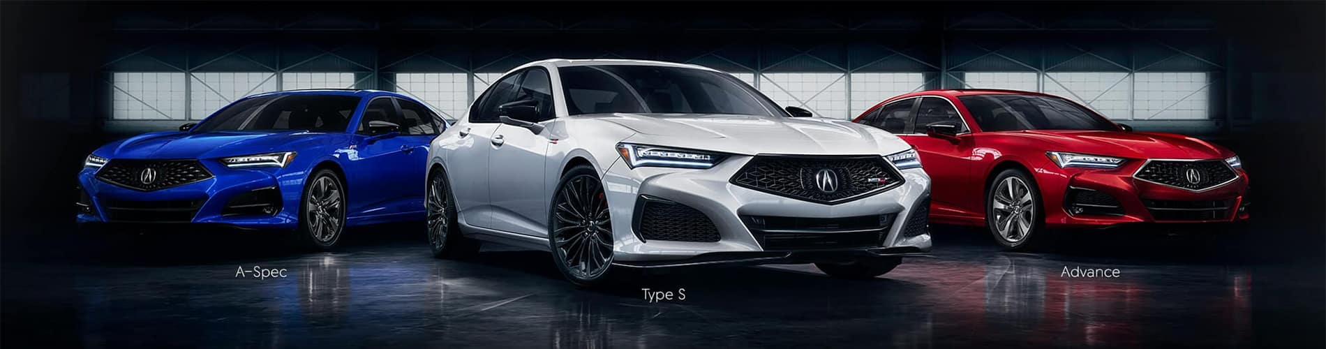 2021 Acura TLX Different Trim Levels