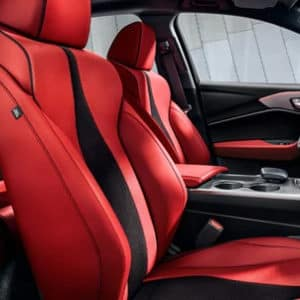 Acura TLX Interior Red Seating