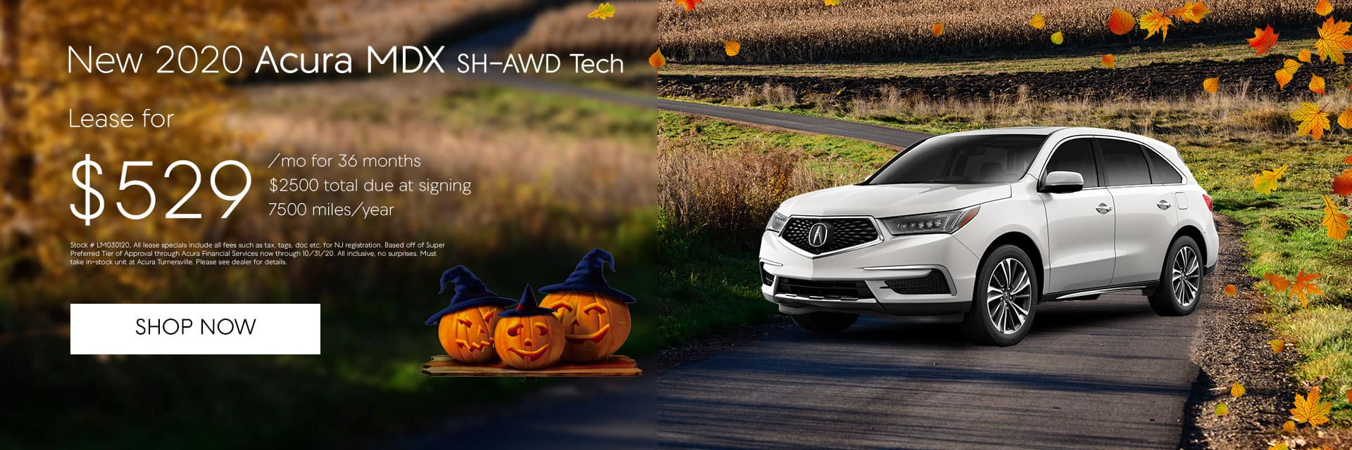 MDX Tech Lease offer at $529/mo
