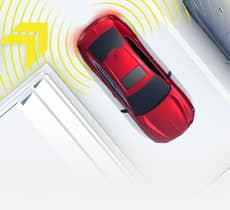 Rear Cross Traffic Monitor*