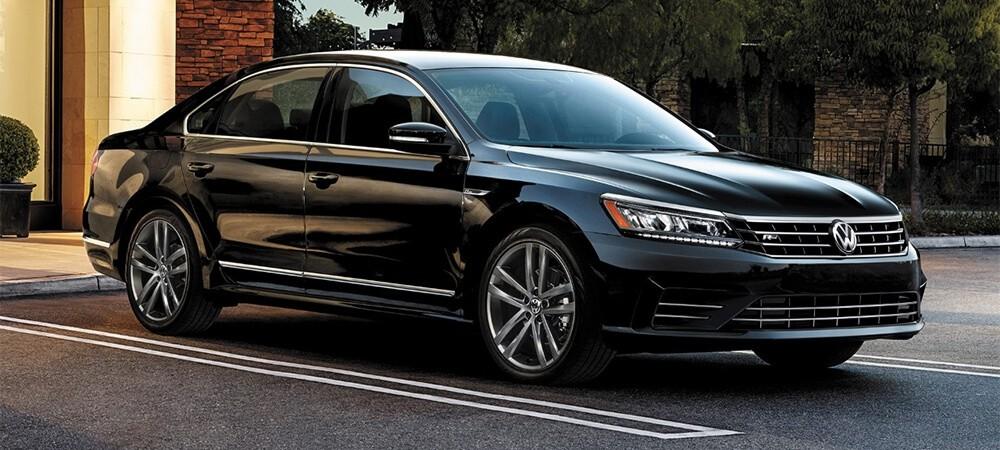 2017 Volkswagen Passat Parked