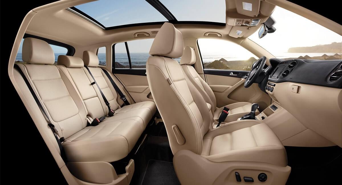 2017 Volkswagen Tiguan Interior Seats