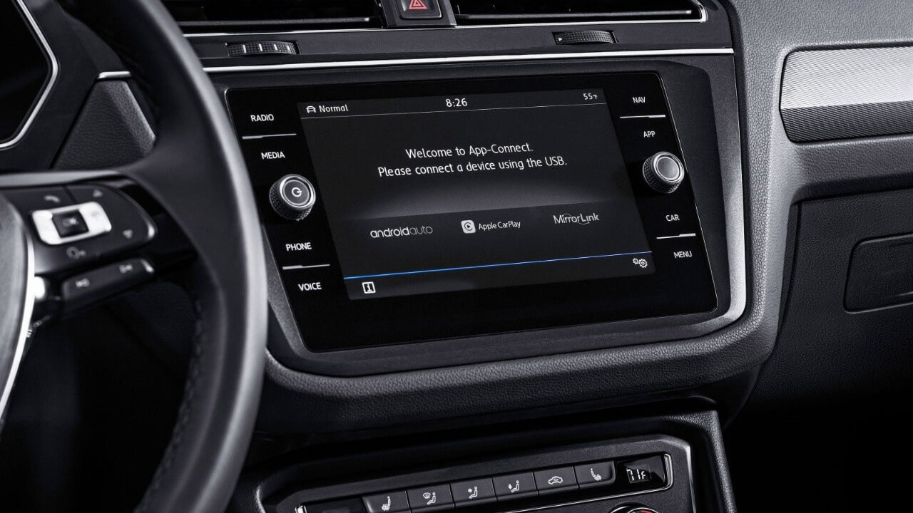 2018 Volkswagen Tiguan Infotainment