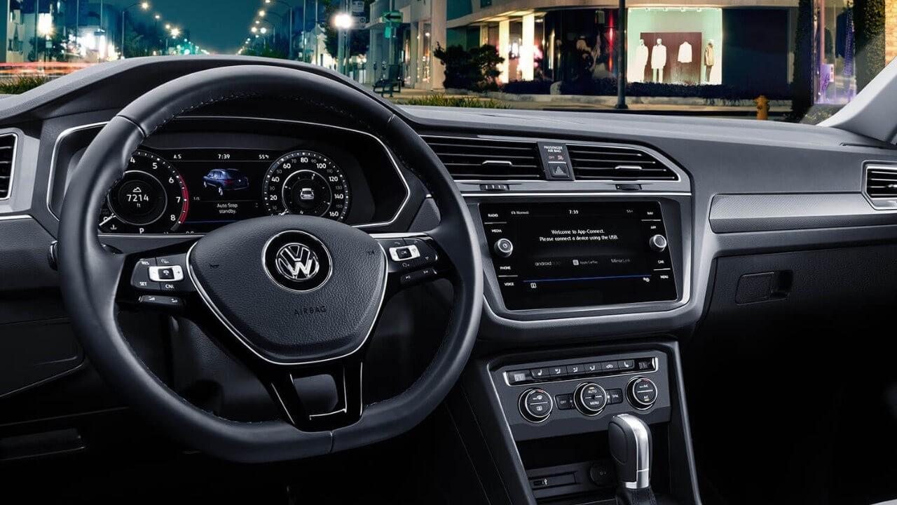 2018 Volkswagen Tiguan Interior Cabin