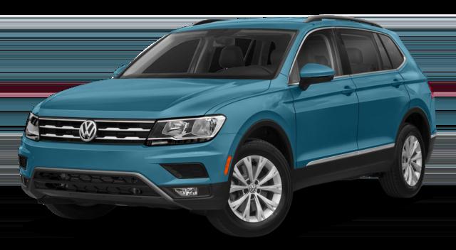 2018 VW Tiguan Teal