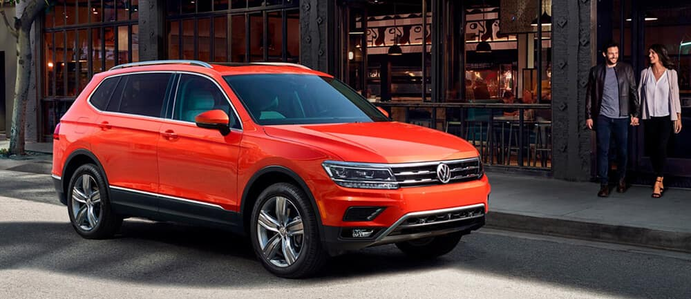 2018 VW Tiguan Parked