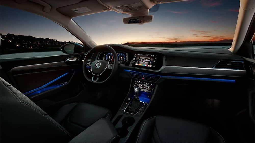 2019 Volkswagen Jetta Multicolor Ambient Lighting