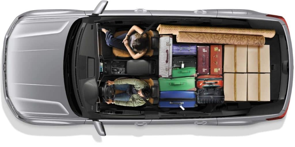 2019 VW Atlas interior cargo space