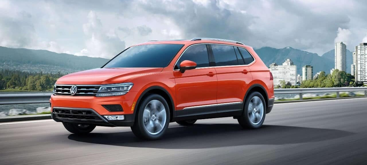 2018 VW Tiguan Orange Exterior