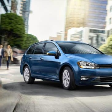 Blue Metallic 2018 Volkswagen Golf SportWagen