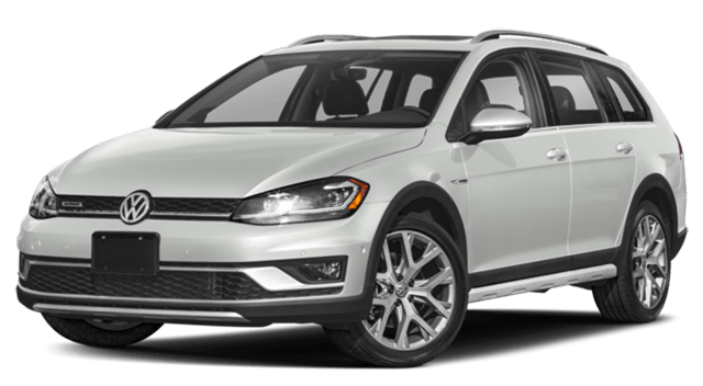 2018 VW Golf Alltrack White