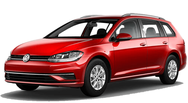 2018 VW Golf Sportwagen Red