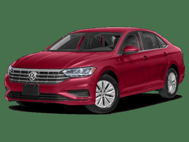 2019 Volkswagen Jetta in red