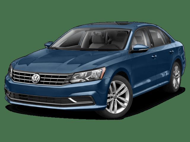 2019 Volkswagen Passat in blue