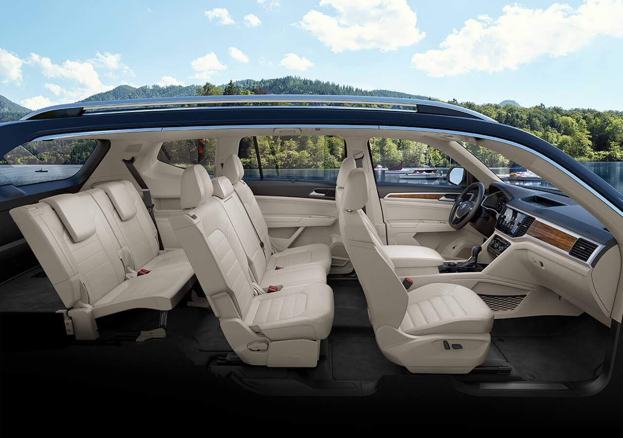 2019 Volkswagen Atlas in Shetland leather interior