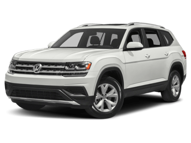 2019 Volkswagen Atlas in white