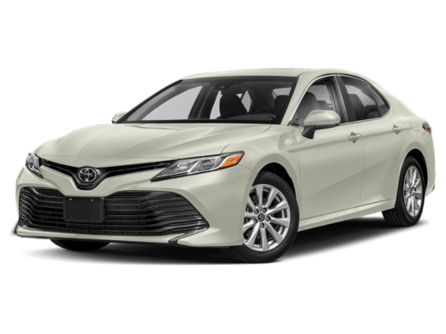 2019 Toyota Camry in white