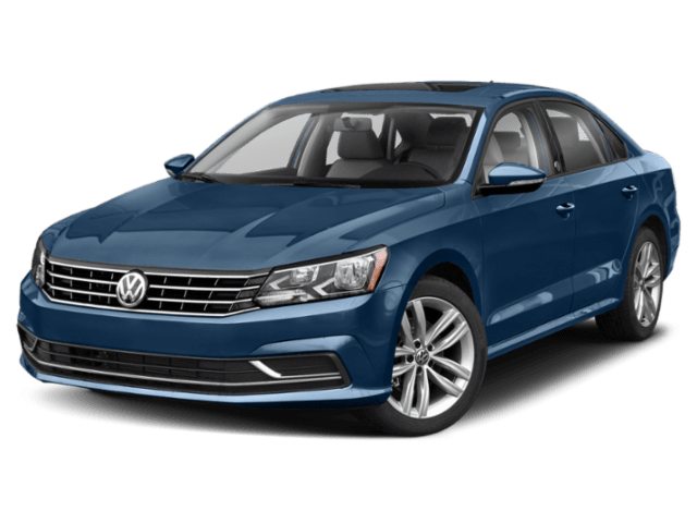 2019 Volkswagen Passat in blue