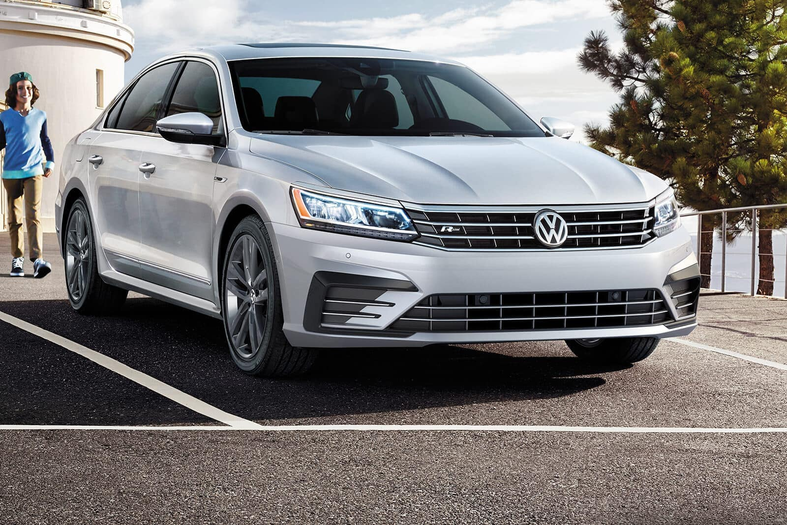2019 Volkswagen Passat parked in lot