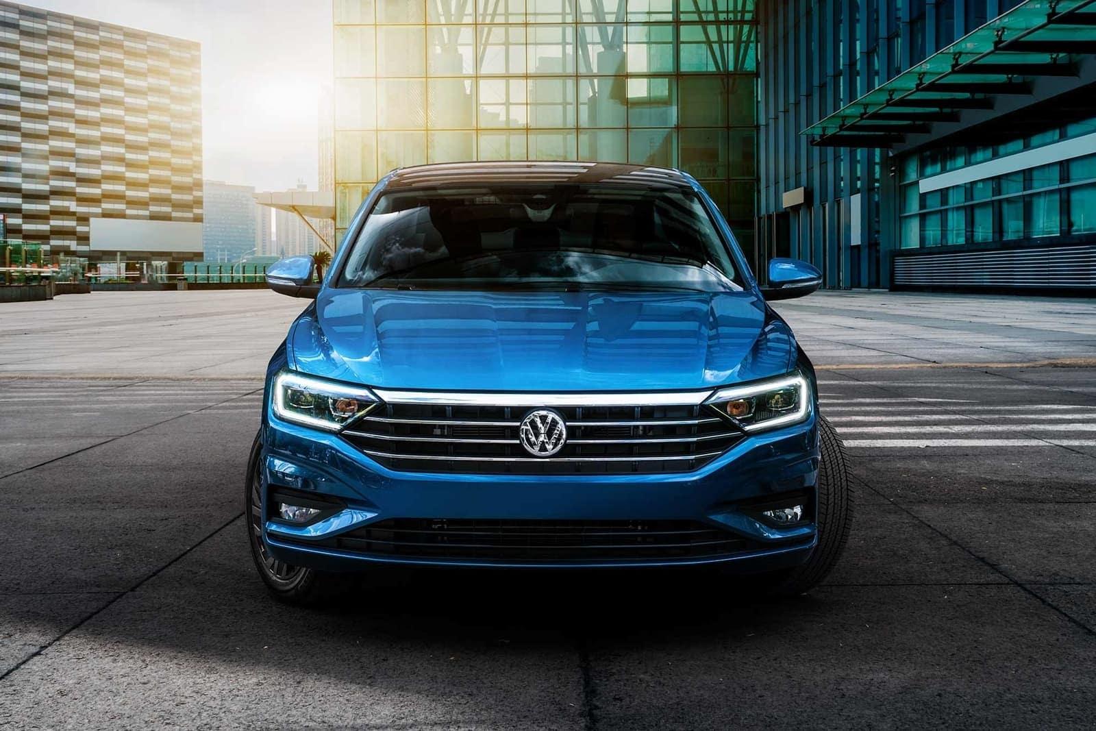 2019 Volkswagen Jetta exterior in blue