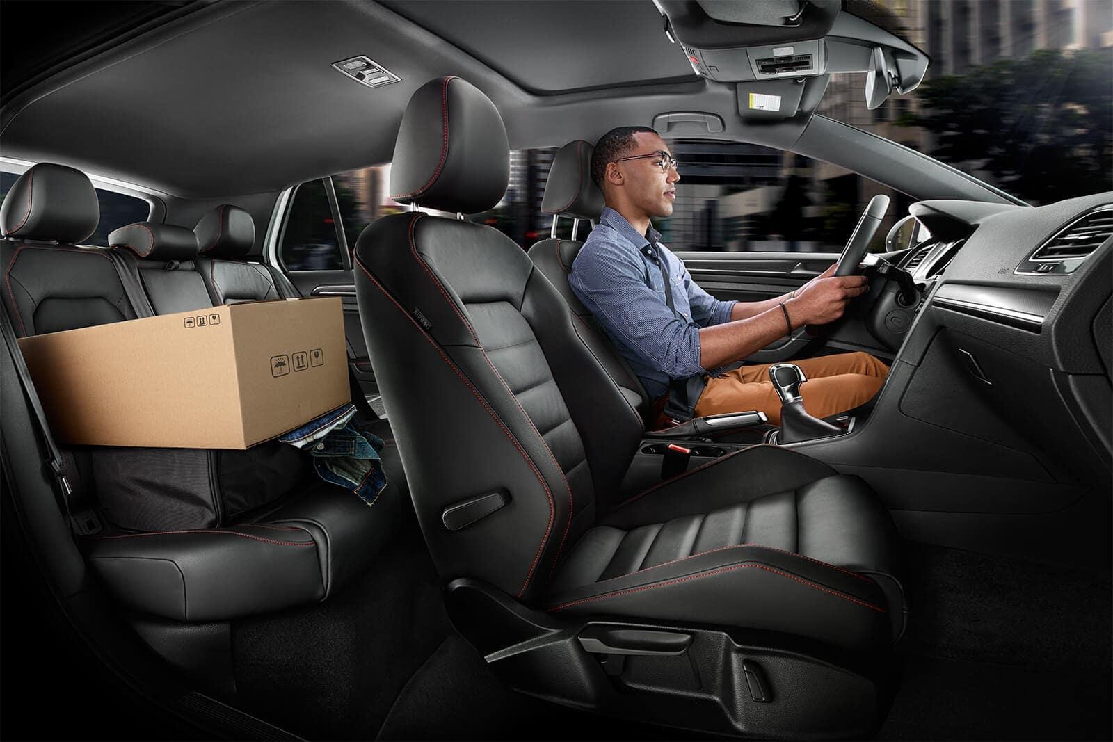 2019 VW Golf GTI interior