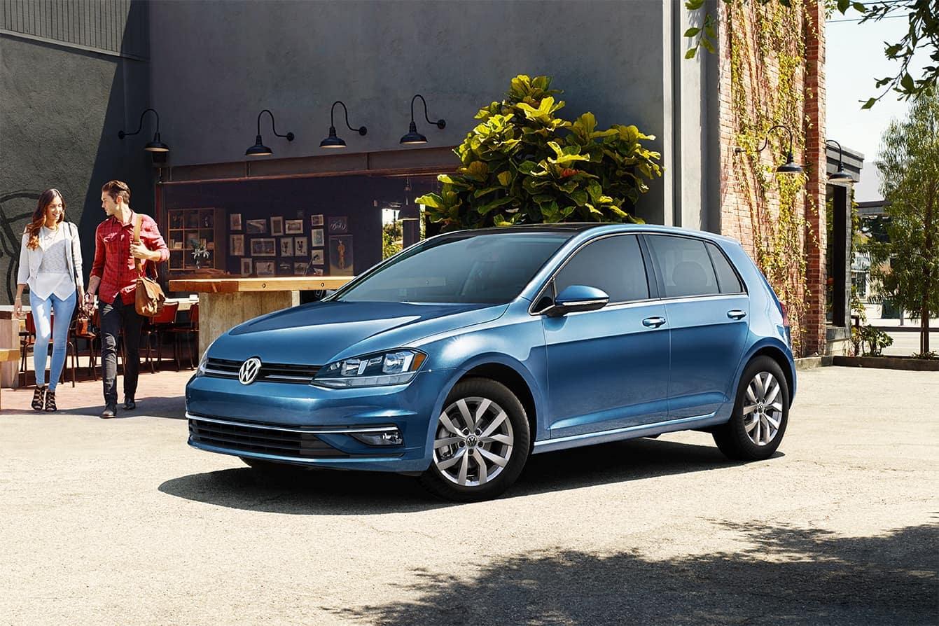 2019 VW Golf exterior