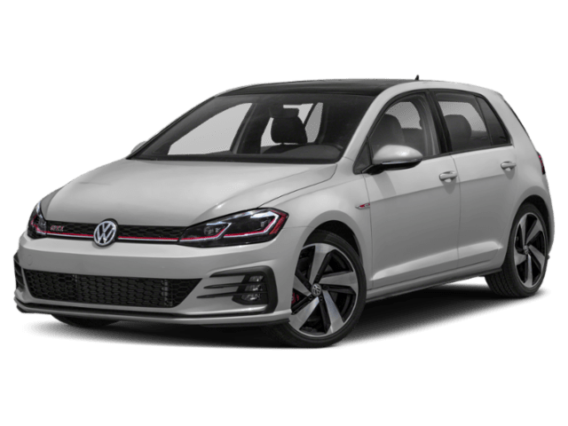 2019 Volkswagen Golf GTI in silver