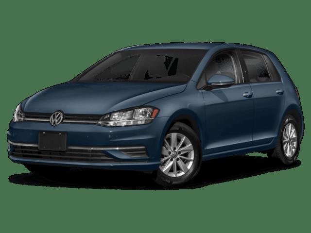 2019 Volkswagen Golf in dark blue