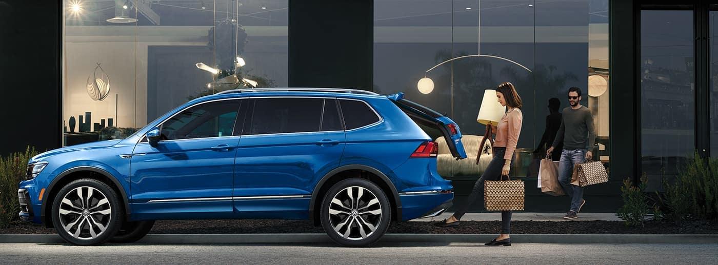 2020 Volkswagen Tiguan parked on road