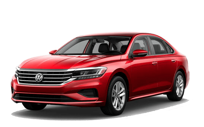 2020 VW Passat Red